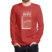 May the bridges I burn... - mens-long-sleeve-tee - small view