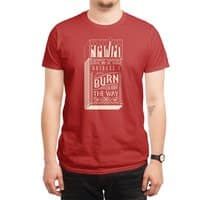 May the bridges I burn... - mens-regular-tee - small view