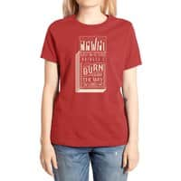 May the bridges I burn... - womens-extra-soft-tee - small view