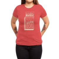 May the bridges I burn... - womens-triblend-tee - small view