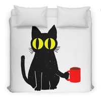 Catfeine - duvet-cover - small view