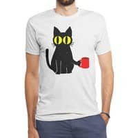 Catfeine - mens-triblend-tee - small view