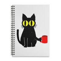 Catfeine - spiral-notebook - small view