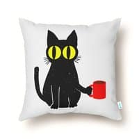 Catfeine - throw-pillow - small view