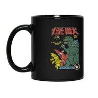 Kaiju Sentai - black-mug - small view
