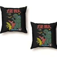 Kaiju Sentai - throw-pillow - small view