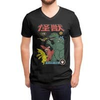 Kaiju Sentai - vneck - small view