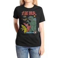Kaiju Sentai - womens-extra-soft-tee - small view