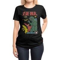 Kaiju Sentai - womens-regular-tee - small view