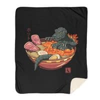 Spicy Lava Ramen King - blanket - small view