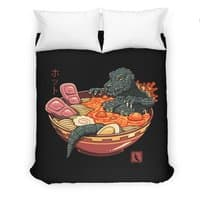 Spicy Lava Ramen King - duvet-cover - small view