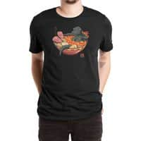 Spicy Lava Ramen King - mens-extra-soft-tee - small view