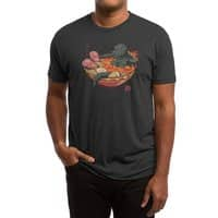 Spicy Lava Ramen King - mens-triblend-tee - small view