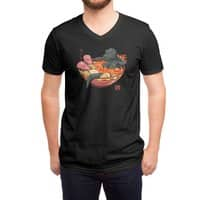 Spicy Lava Ramen King - vneck - small view