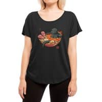 Spicy Lava Ramen King - womens-dolman - small view