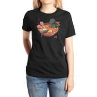 Spicy Lava Ramen King - womens-extra-soft-tee - small view