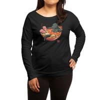 Spicy Lava Ramen King - womens-long-sleeve-terry-scoop - small view