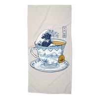 The Great Kanagawa Tee - beach-towel - small view