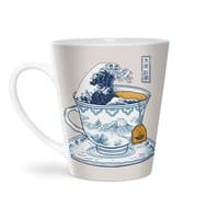 The Great Kanagawa Tee - latte-mug - small view