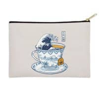 The Great Kanagawa Tee - zip-pouch - small view