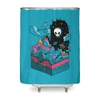 The Visitor - shower-curtain - small view