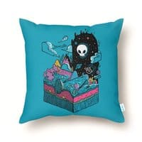 The Visitor - throw-pillow - small view