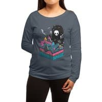 The Visitor - womens-long-sleeve-terry-scoop - small view