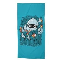 Tentacle Attack - beach-towel - small view