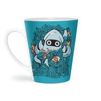 Tentacle Attack - latte-mug - small view