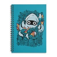 Tentacle Attack - spiral-notebook - small view