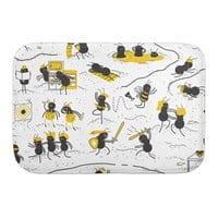 Crazy Ants - bath-mat - small view
