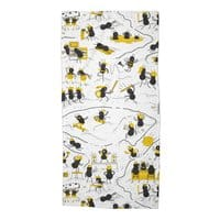 Crazy Ants - beach-towel - small view