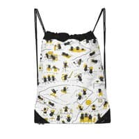 Crazy Ants - drawstring-bag - small view