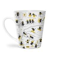 Crazy Ants - latte-mug - small view