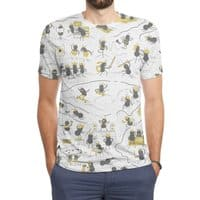 Crazy Ants - mens-sublimated-triblend-tee - small view