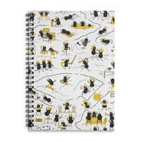 Crazy Ants - spiral-notebook - small view