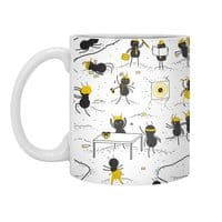 Crazy Ants - white-mug - small view