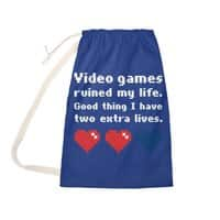 Video Games Ruined My Life - laundry-bag - small view