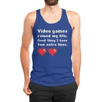 Video Games Ruined My Life - mens-jersey-tank - small view