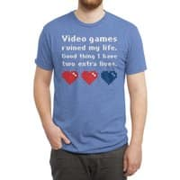 Video Games Ruined My Life - mens-triblend-tee - small view