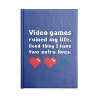 Video Games Ruined My Life - notebook - small view