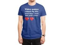 Video Games Ruined My Life - mens-regular-tee - small view