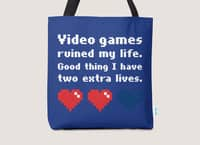 Video Games Ruined My Life - tote-bag - small view