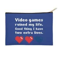 Video Games Ruined My Life - zip-pouch - small view