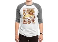 Anime Food - triblend-34-sleeve-raglan-tee - small view