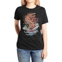 Ramen Dragon - womens-extra-soft-tee - small view