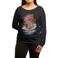 Ramen Dragon - womens-long-sleeve-terry-scoop - small view