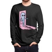 Strange Planet: Greetings - mens-long-sleeve-tee - small view