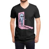 Strange Planet: Greetings - vneck - small view