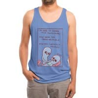 Strange Planet: Ohay - mens-triblend-tank - small view
